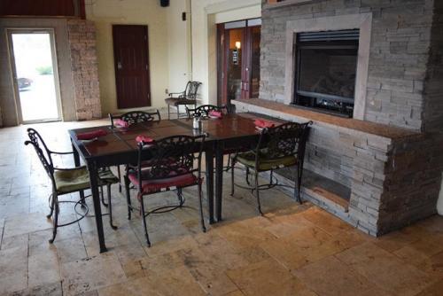 Patio Fireplace